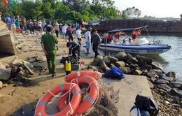 Tìm thấy 2 thi thể vụ lật thuyền tại Quảng Nam