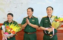 Bổ nhiệm Chủ nhiệm Hậu cần Quân khu 3, Phó Chánh án Tòa án Quân sự Khu vực Quân khu 4