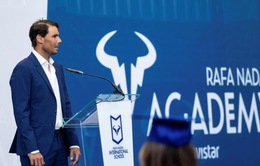 Federer và Sharapova góp mặt trong buổi lễ tốt nghiệp học viện quần vợt của Nadal
