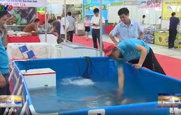Sôi động phiên chợ thủy sản ĐBSCL tại Hà Nội