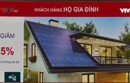 Người dân được vay vốn lắp đặt điện mặt trời áp mái