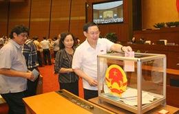 448/451 đại biểu Quốc hội tán thành Nghị quyết miễn nhiệm chức Phó Thủ tướng với ông Vương Đình Huệ