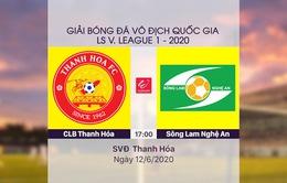 VIDEO Highlight: CLB Thanh Hoá 0-0 Sông Lam Nghệ An (Vòng 4 LS V.League 1-2020)