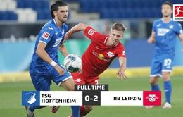 Kết quả Hoffenheim 0-2 RB Leipzig: Cú đúp ấn tượng của Dani Olmo