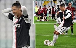 Ronaldo đá hỏng penalty, Juventus vẫn vào chung kết Cúp Quốc gia Italia