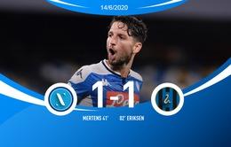 Hòa Inter, Napoli tiến vào chung kết Cúp Quốc gia Italia