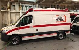 Có gì bên trong chiếc xe cứu thương tại giải đua F1 Việt Nam?