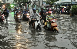TP.HCM sắp đón những cơn mưa cực lớn, đề phòng ngập lụt khu vực thấp