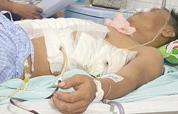 Khẩn nguy cứu người đàn ông bị đâm thấu ngực bụng
