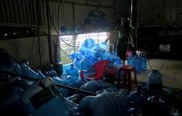 Thu hồi nước uống đóng chai hiệu Vimass làm từ nước thải sinh hoạt