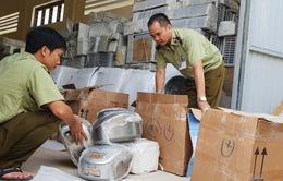 Phát hiện, thu giữ gần 1.000 sản phẩm máy, điện lạnh nhập lậu đã qua sử dụng