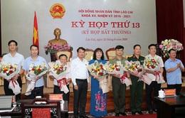 Lào Cai có nữ Phó Chủ tịch UBND tỉnh sinh năm 1975