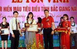 Bắc Giang: Số lượng máu tiếp nhận năm sau luôn cao hơn năm trước