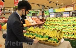 Chuối Việt Nam có mặt tại chuỗi siêu thị Lotte ở Hàn Quốc
