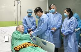 """BN91 nói lời cảm ơn các bác sĩ Việt Nam, đôi khi """"dỗi"""" vì phải tập nhiều quá"""