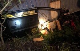 Vụ container đè bẹp limousine: Xác định nguyên nhân và danh tính 3 nạn nhân tử vong