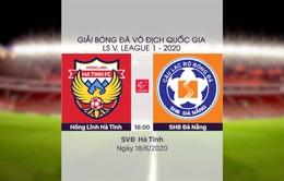 VIDEO Highlight: Hồng Lĩnh Hà Tĩnh 0-0 SHB Đà Nẵng (Vòng 5 LS V.League 1-2020)