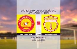 VIDEO Highlight: CLB Thanh Hoá 1-0 DNH Nam Định (Vòng 5 LS V.League 1-2020)