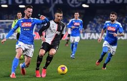 *Napoli 0-0 Juventus: Ronaldo tịt ngòi, Juventus mất Cúp Quốc gia Italia trên chấm luân lưu