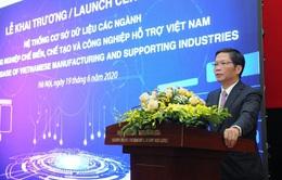 Khai trương hệ thống cơ sở dữ liệu các ngành công nghiệp hỗ trợ Việt Nam