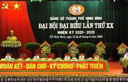 Đồng chí Lê Hữu Quý tái đắc cử Bí thư Thành ủy Ninh Bình