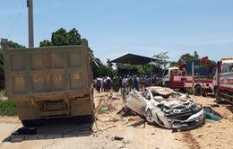Vụ xe tải đè xe con ở Thanh Hóa: Khởi tố, bắt tạm giam tài xế ô tô tải