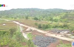 Gia Lai hàng ngàn người dân mong tuyến tỉnh lộ 666 sớm hoàn thành