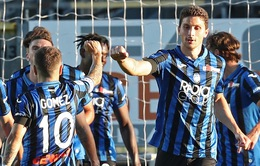 Kết quả, BXH VĐQG Italia Serie A: Atalanta 4-1 Sassuolo, Inter 2-1 Sampdoria