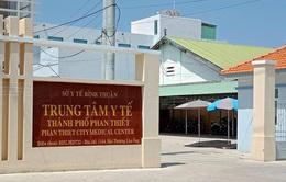 Giám đốc, Phó Giám đốc Trung tâm Y tế Phan Thiết bị cách chức