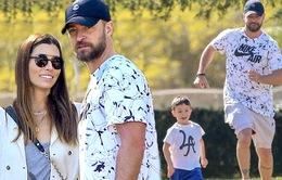 Justin Timberlake cảm ơn vợ vì đã biến mình thành một ông bố