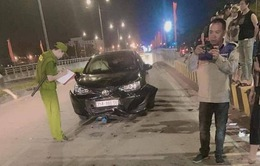 Cán bộ trung tâm sát hạch lái xe Ninh Bình say rượu gây tai nạn