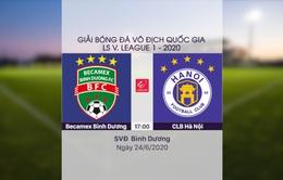 VIDEO Highlights: B.Bình Dương 0-2 CLB Hà Nội (Vòng 6 LS V.League 1-2020)
