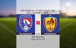 VIDEO Highlights: Than Quảng Ninh 3-1 CLB Quảng Nam (Vòng 6 LS V.League 1-2020)