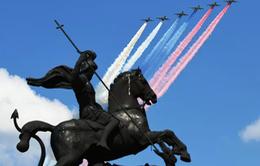 VIDEO Mãn nhãn màn trình diễn của không quân Nga tại Lễ duyệt binh mừng Chiến thắng