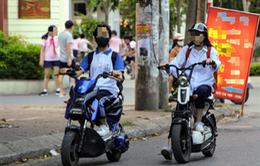 Học sinh đi xe đạp điện, xe máy điện sẽ phải học để lấy giấy phép A0