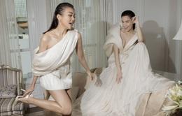 Ngắm Hồ Ngọc Hà và Thanh Hằng trong BST mới của Công Trí, từng xuất hiện trên Vogue Paris