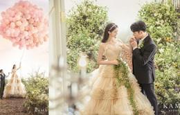 Cựu thành viên Wonder Girls khoe ảnh cưới đẹp như cổ tích