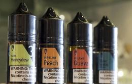 Hà Lan cấm thuốc lá điện tử có hương vị