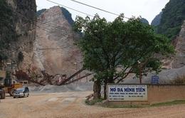 Tai nạn lao động khi khai thác đá, 1 người tử vong