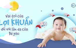 Vai trò quan trọng của lợi khuẩn trong việc bảo vệ làn da cho bé yêu