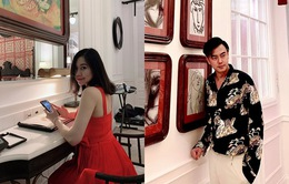 MC Tuấn Tú đưa vợ xinh đẹp đi hưởng kỳ nghỉ lãng mạn