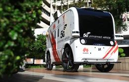 Thử nghiệm xe không người lái 5G tại bệnh viện thông minh Thái Lan