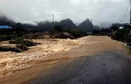 Mưa lớn gây sạt lở nhiều tuyến đường tại Lai Châu