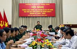 Bộ trưởng Bộ Quốc phòng tới kiểm tra, thông qua công tác chuẩn bị cho Đại hội Đảng bộ Quân khu 9