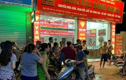 Cướp tiệm vàng táo tợn rồi bỏ trốn tại Hà Nội