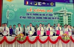 """7 trường đại học kỹ thuật hàng đầu Việt Nam """"liên thủ"""" đào tạo kỹ sư chuyên sâu nghề nghiệp"""