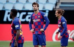 Lịch thi đấu, kết quả bóng đá và bảng xếp hạng các giải bóng đá châu Âu ngày 28/6: Celta Vigo 2-2 Barcelona, Dortmund 0-4 Hoffenheim