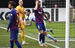 Celta Vigo 2-2 Barcelona: Barca chia điểm cay đắng