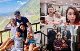 Ngày Gia đình Việt Nam, ngắm khoảnh khắc hạnh phúc bên gia đình của các diễn viên