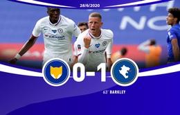 """Leicester City 0-1 Chelsea: """"Siêu dự bị"""" tỏa sáng (Tứ kết Cúp FA)"""